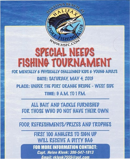 Halifax Sport Fishing Club Tournament